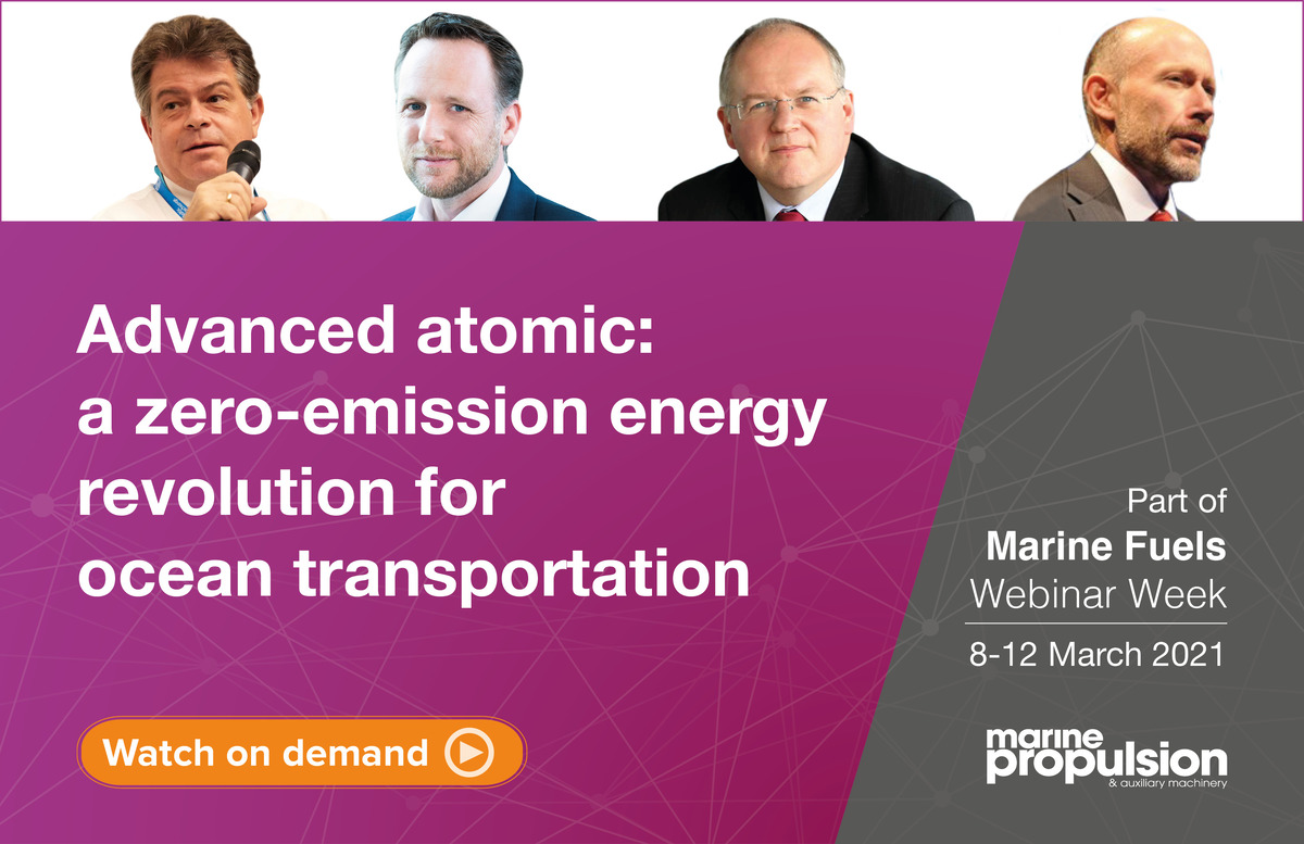 Marine Fuels: Advanced atomics webinar panel