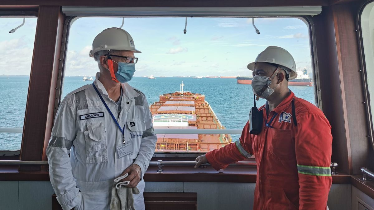 Carl Schou (WSM): Crew welfare and crew change is a concern and number one priority (source: WSM)