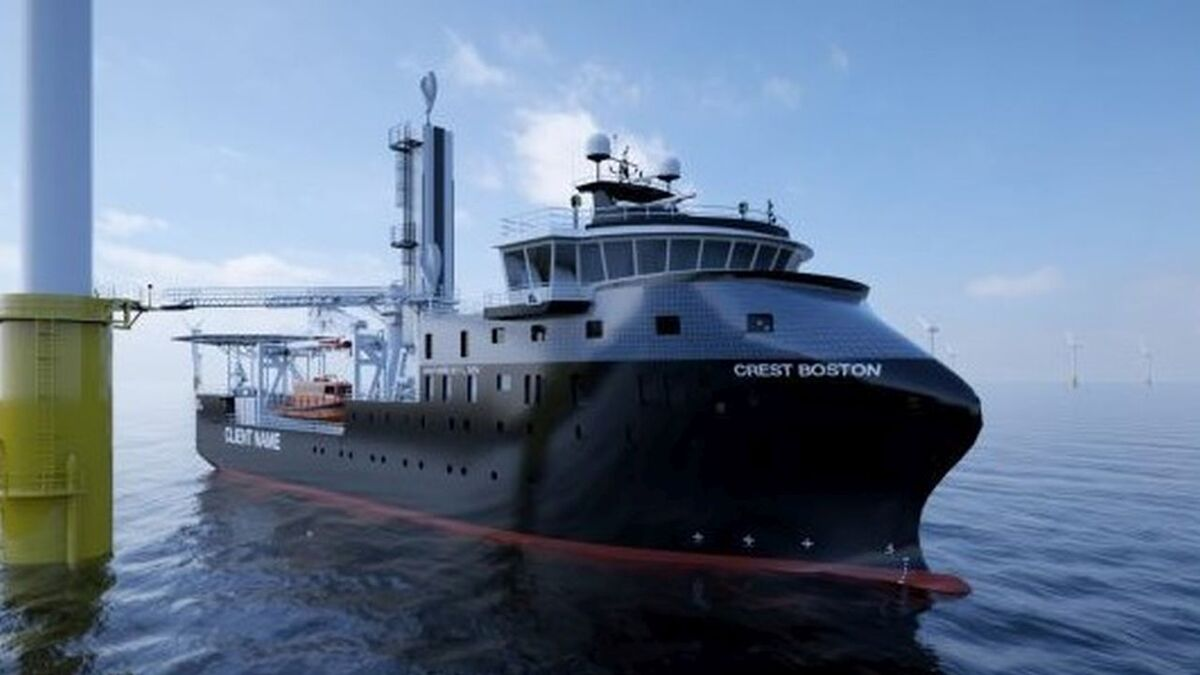 To comply with the requirements of the Jones Act, Crowley and Esvagt will build SOVs in the US
