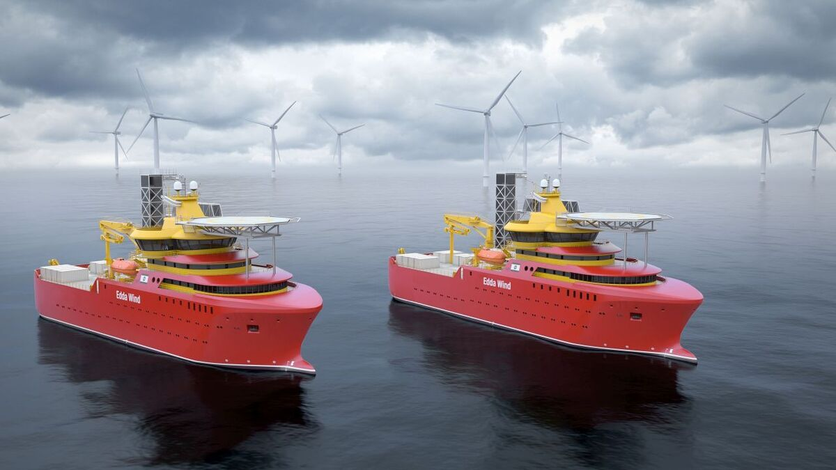 Edda Wind now has six environmentally friendly newbuilds under construction for the offshore wind market