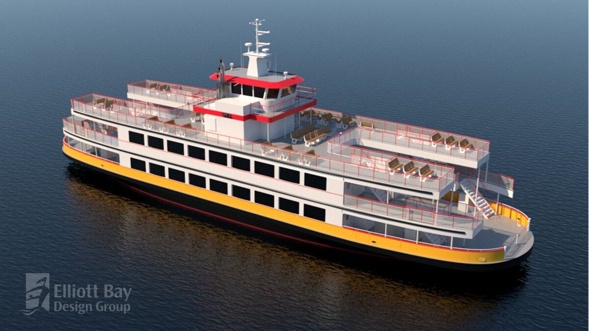 Casco Bay Lines new ferry will feature ABB's hybrid-electric power solutions