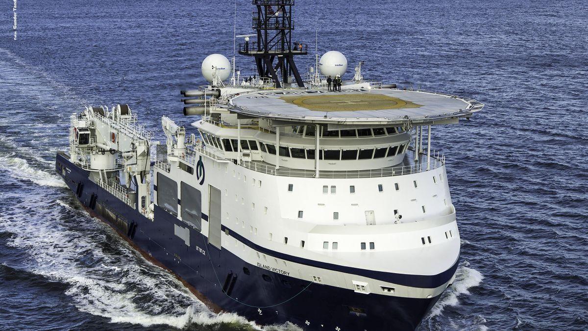 Island Offshore analyses data from its vessels using Unisea software (source: Island/Gunder Sandersen)