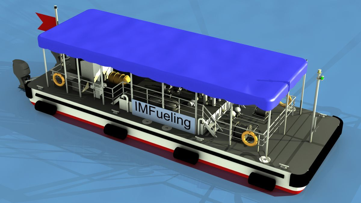 Compact fuelling barge design unveiled for US intercoastal waterways