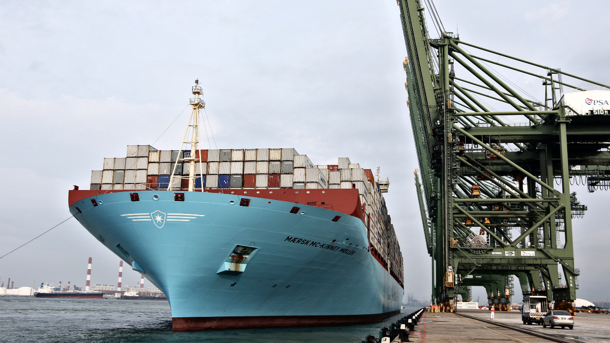The Port of Singapore is the world's largest bunkering hub (source: Maersk)
