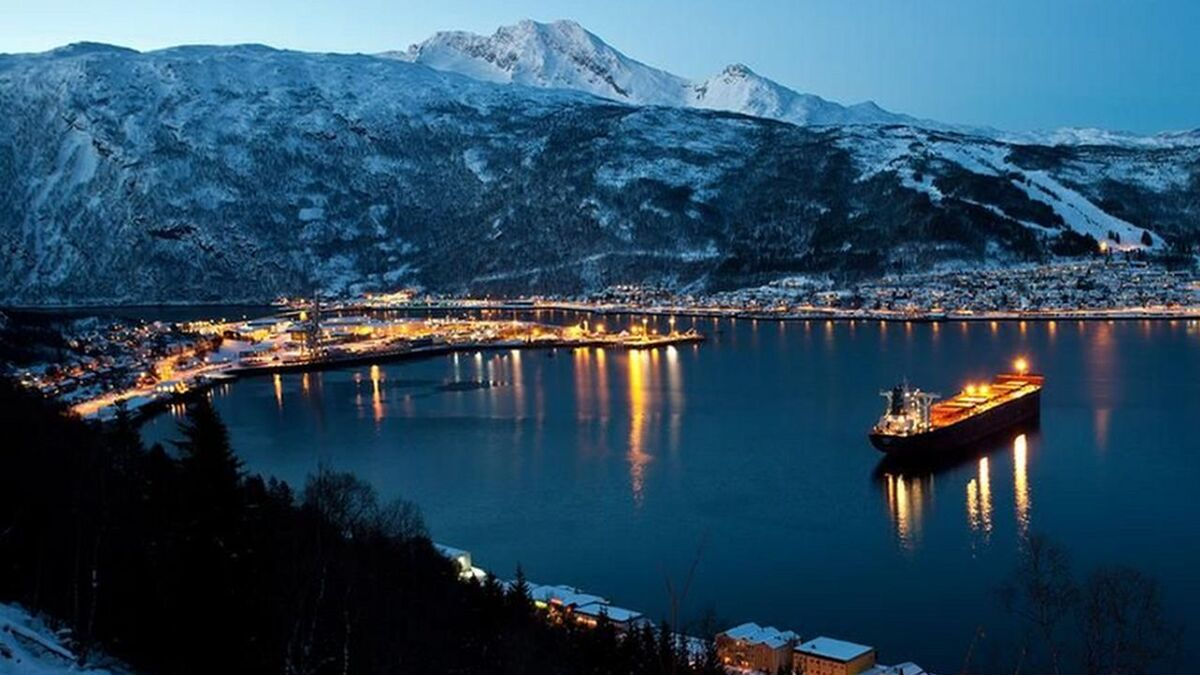 Narvik Bay, Norway where TECO 2030 will be opening a fuel cell factory (source: TECO 2030)