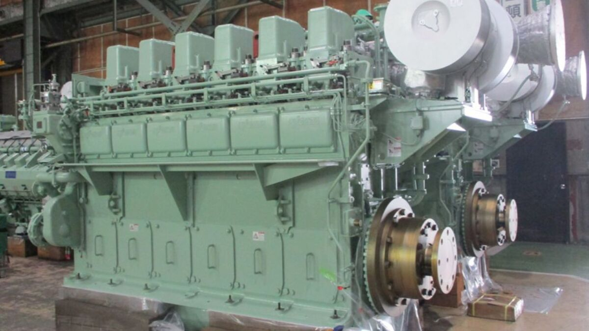 Niigata 6L28HX engines to be supplied to Kanagawa Zosen for new harbour tugs (source: IHI)