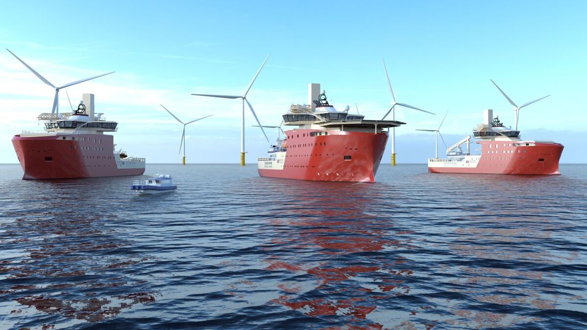 North Star Renewables is to provide three SOVs for the Dogger Bank project in the North Sea