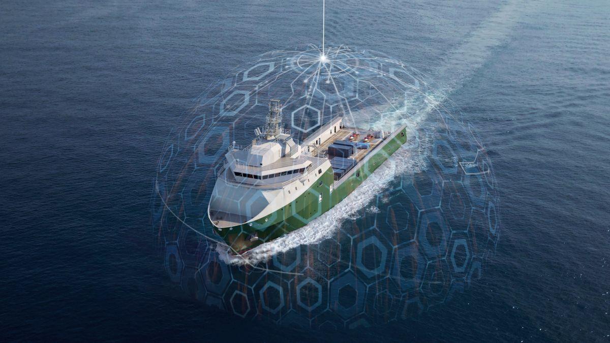 Inmarsat Fleet Data provides digital solutions to OSVs through Fleet Xpress (source: Inmarsat)
