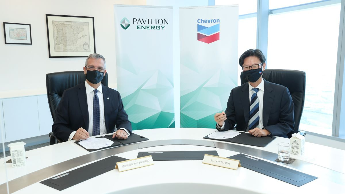 Chevron USA will supply approximately 0.5M tonnes of LNG per year to Singapore from 2023 (source: Pavilion)