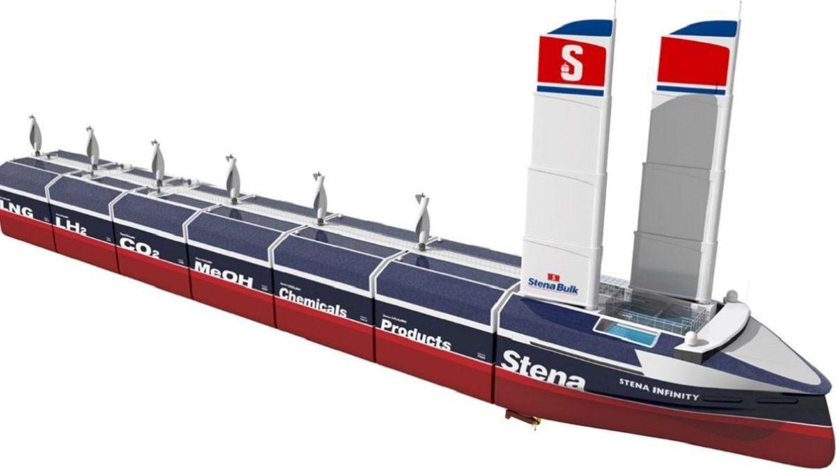 InfinityMAX: Modular multi-cargo design could revolutionise shipping (source: Stena)
