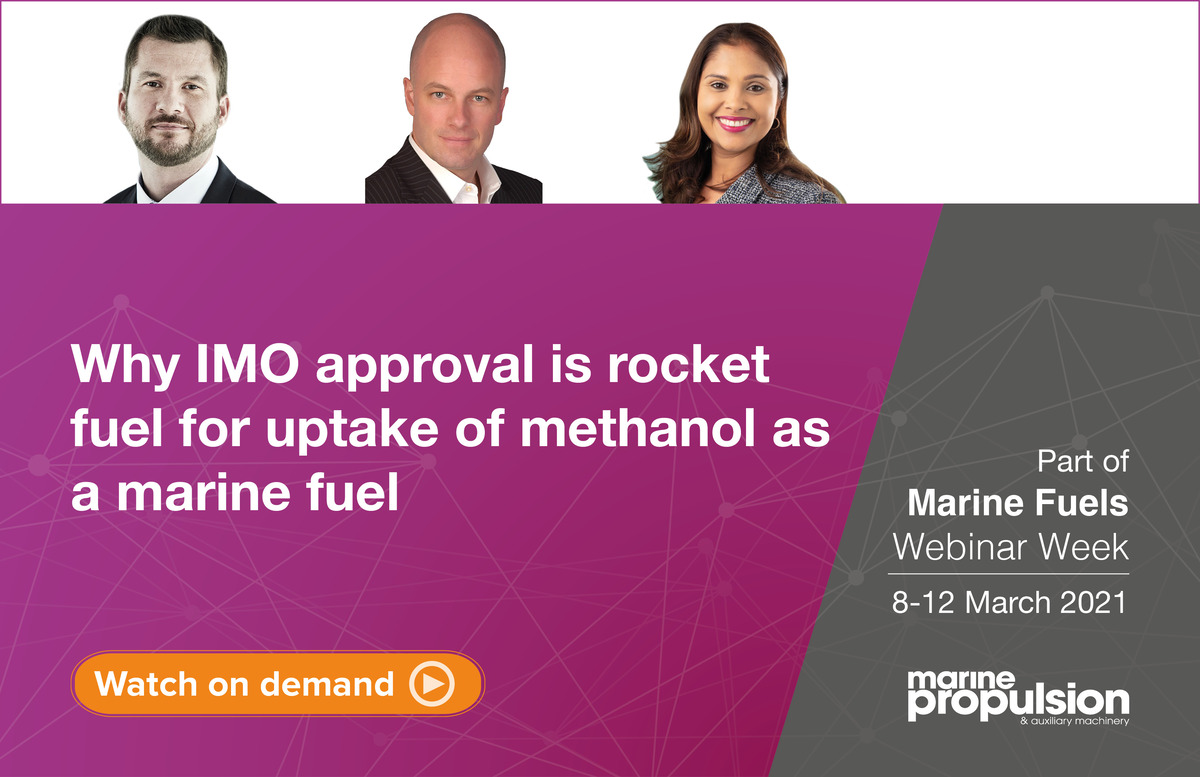 Tues 9 March 2021 Methanol webinar panel