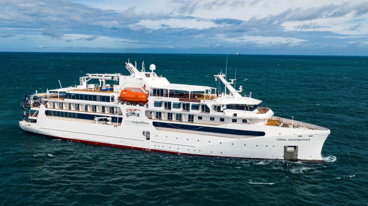 Coral Expeditions expands fleet with new cruise ship