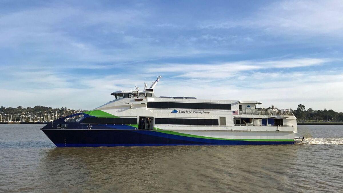 WETA ferry Pyxis