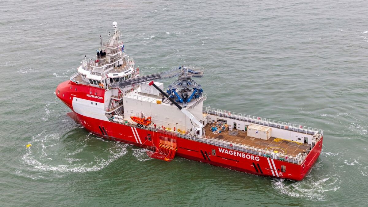 Wagenborg is floating the newly converted Keizersborg PSV into the North Sea market
