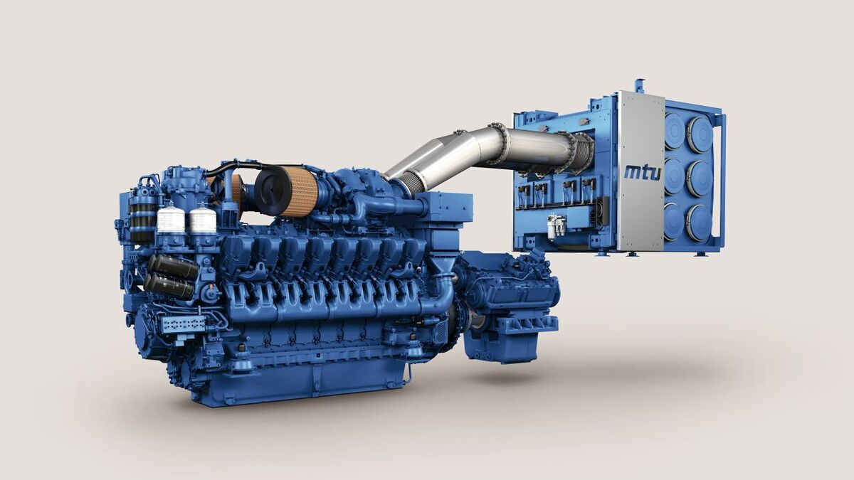 Rolls-Royce has received EPA Tier 4 certification for MTU propulsion systems based on its Series 4000 M65L 16-cylinder diesel engines (Image: Rolls-Royce)