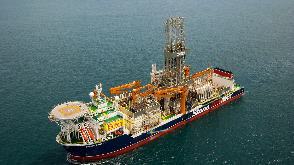 Stena Carron is one of six drill ships secured by ExxonMobil for work in Guyana (source: Stena Drilling)