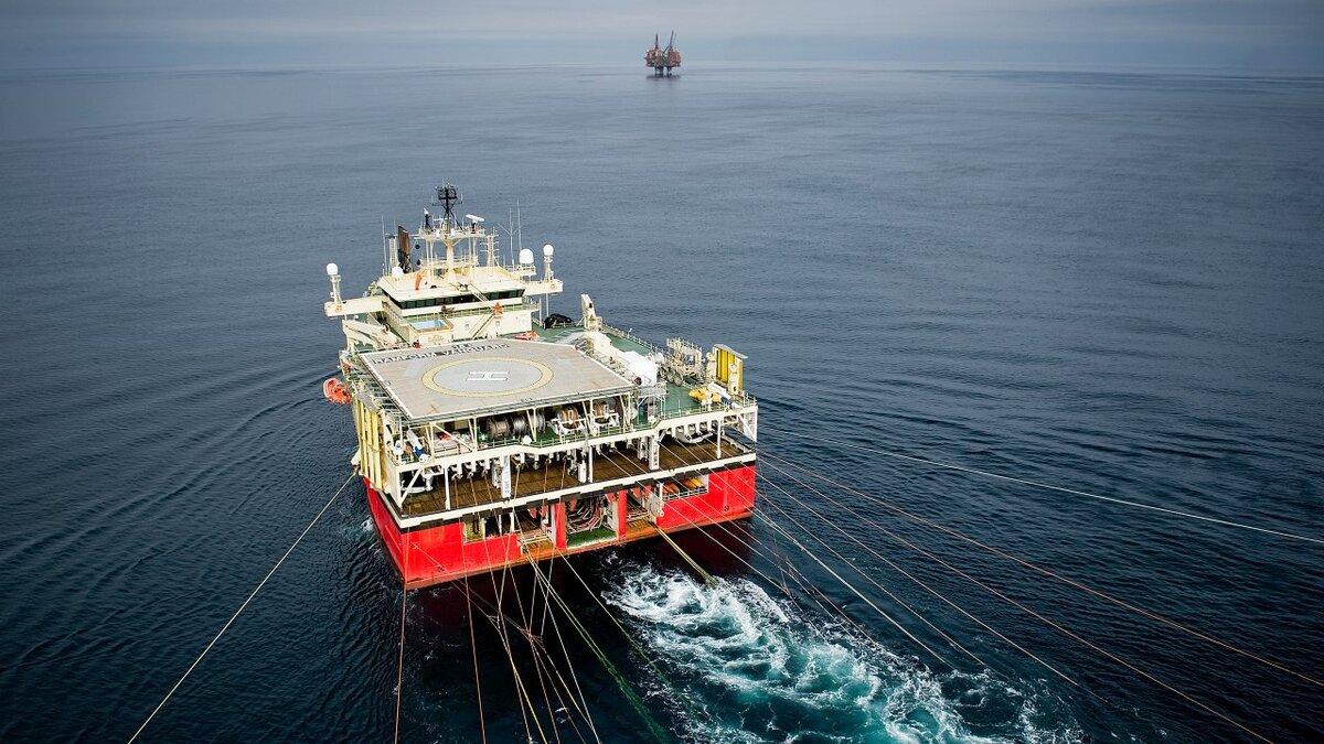 PGS' Ramford Vanguard seismic vessel (Image: Equinor/Ole Jørgen Bratland)