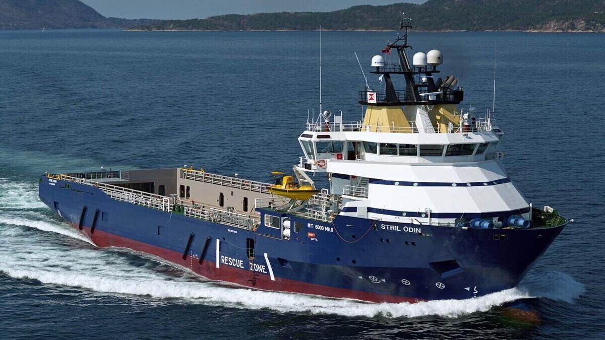 Stril Odin - the vessel owner's most fuel-efficient ship in 2020 (Image: Harald M Valderhaug/Simon Møkster Shipping)