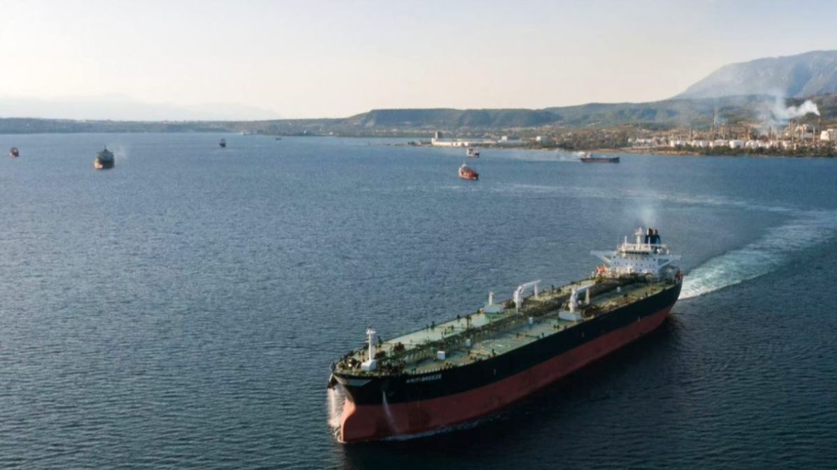 Kriti Breeze is owned by Greece's Avin International, which has ordered the first ammonia-ready tanker (source: Avin International)