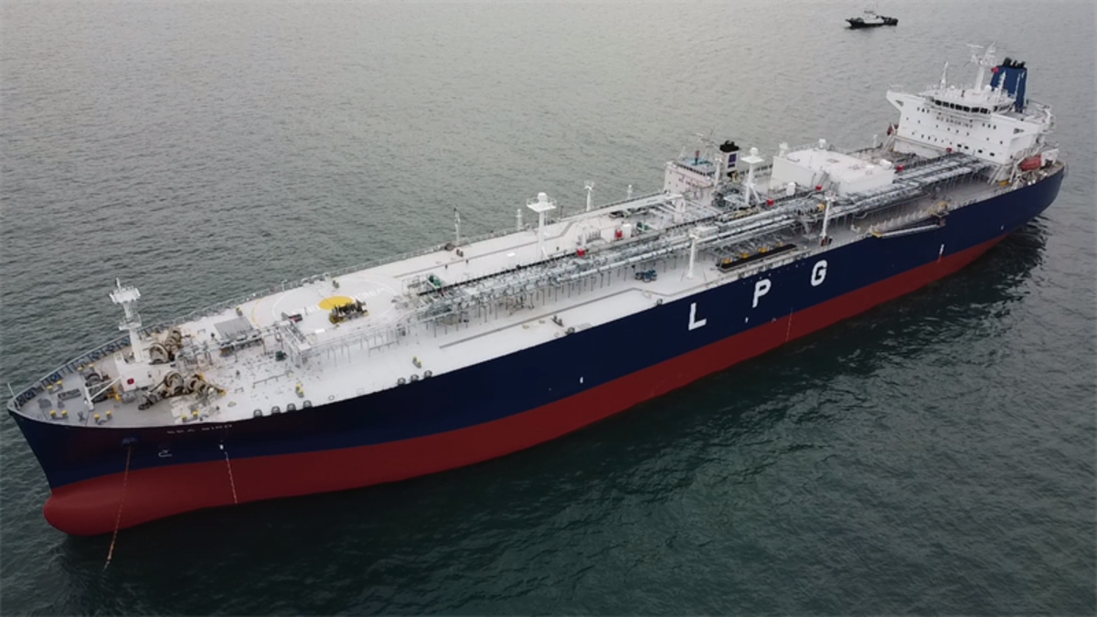The Petredec LPG carrier vessels will be supplied Wärtsilä's cargo handling and fuel supply systems (© Petredec)