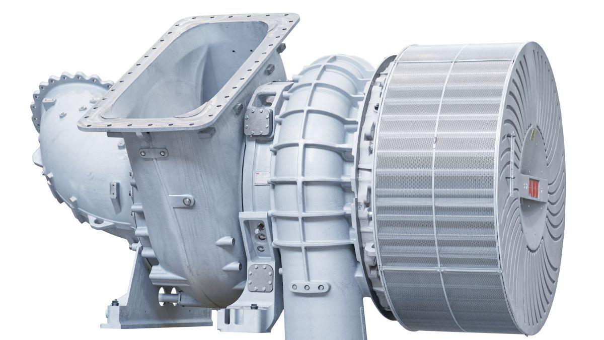 A200-L is a single-stage turbocharger for low-speed, two-stroke diesel or gas engines (source: ABB Turbocharging)