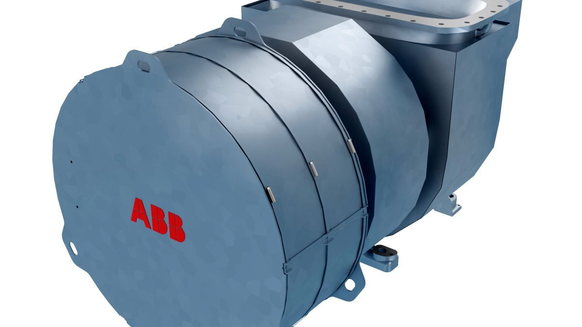ABB Turbocharging's A255-L can be used on low-pressure, dual-fuel engines to optimise combustion (source: ABB Turbocharging)