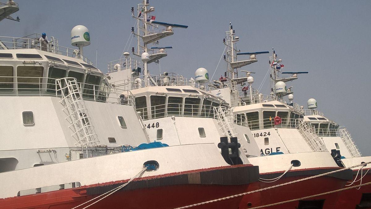 Satcom Global installs Aura VSAT on a fleet of support ships (source: Satcom Global)