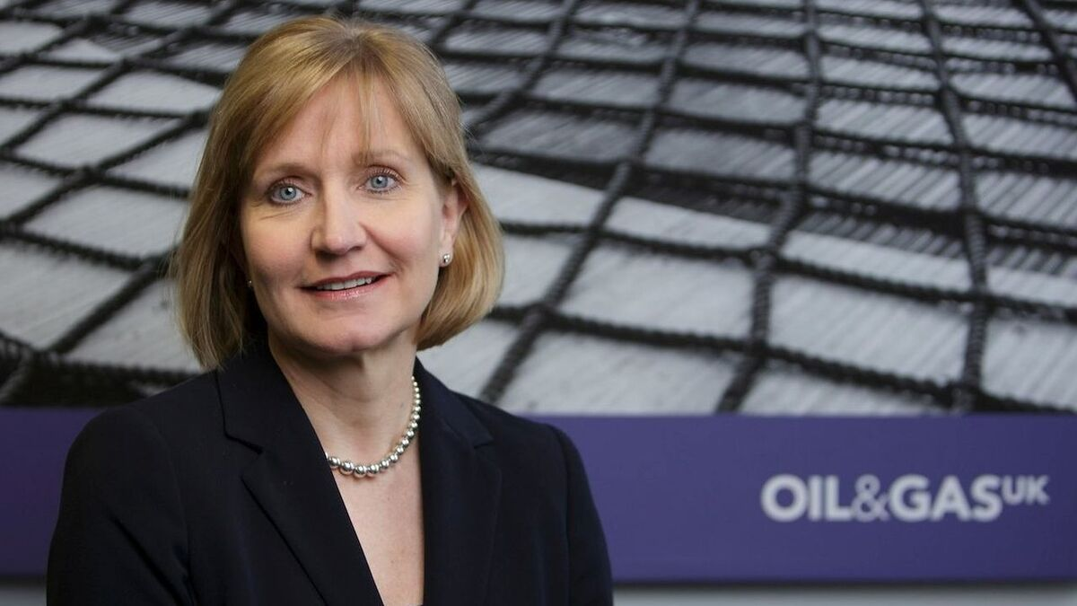 """Deirdre Michie: """"North Sea Transition Deal will unlock billions in investment and help realise low-carbon solutions that can be exported"""""""