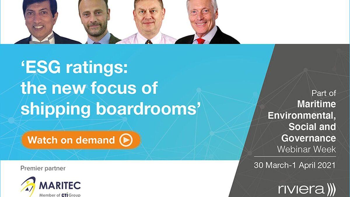 ESG ratings pannelists