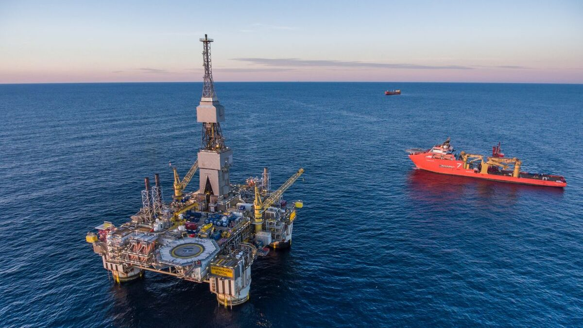 DP safety is vital as OSVs operate near floating production systems (source: Equinor/Thomas Sola)