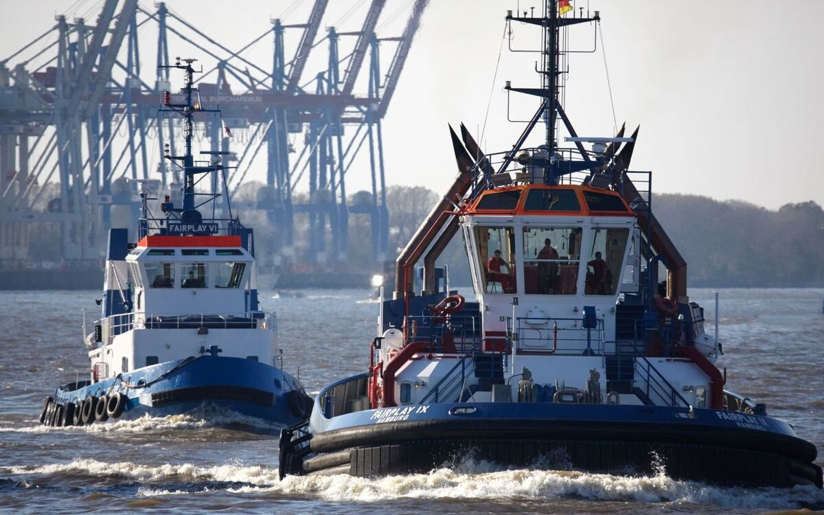 Fairplay Towage tugs in Germany
