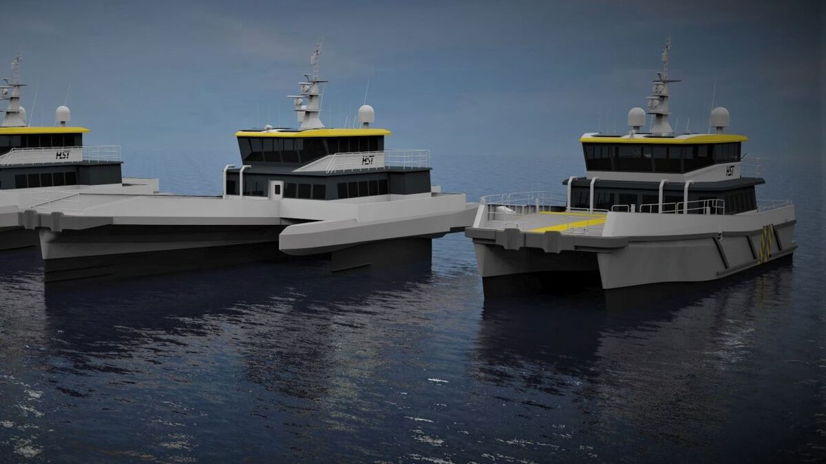 HST has ordered two designs, the BARTech 30 and a Chartwell 24 CTV with BAR Technologies' FOSS stabilisation system