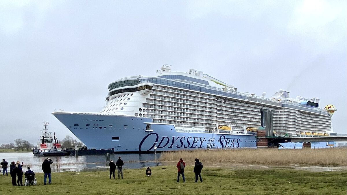 Odyssey of the Seas nears delivery despite pandemic