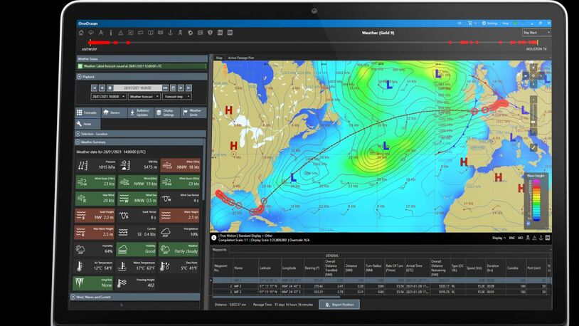 Voyage planning and vessel tracking unveiled to bypass a blocked Suez