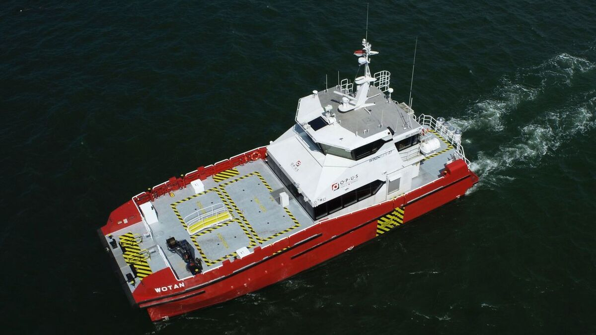 The first two Windflex-27 crew transfer vessels are to be delivered to Opus Marine shortly and will start work with Ørsted in Taiwan
