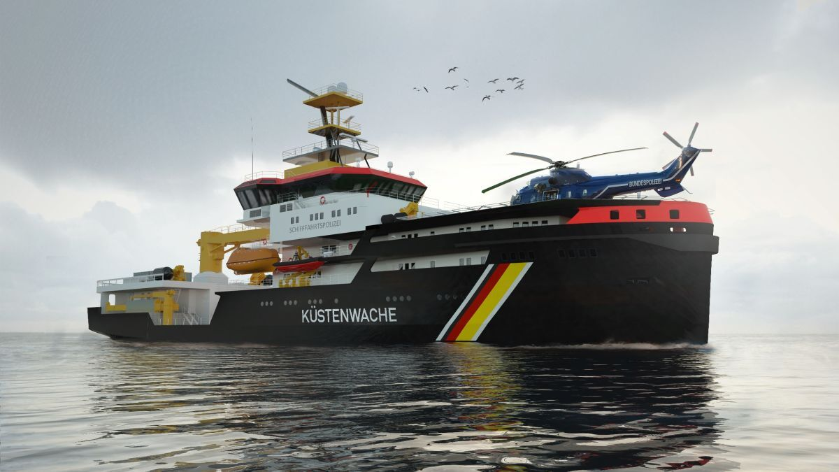 A&R's shipyard is building three emergency response vessels for WSV (source: Schottel)