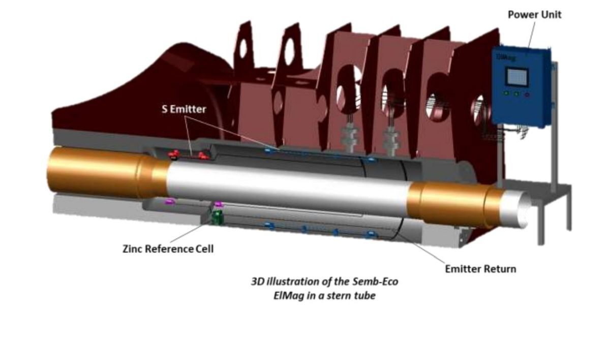 Tanker fleet fitted with ultra-low frequency corrosion control system