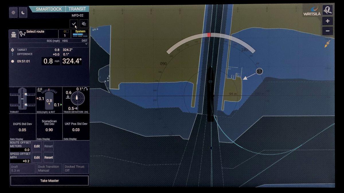 Wärtsilä SmartDock User Interface was developed using user-centered design principles (source: Wärtsilä)
