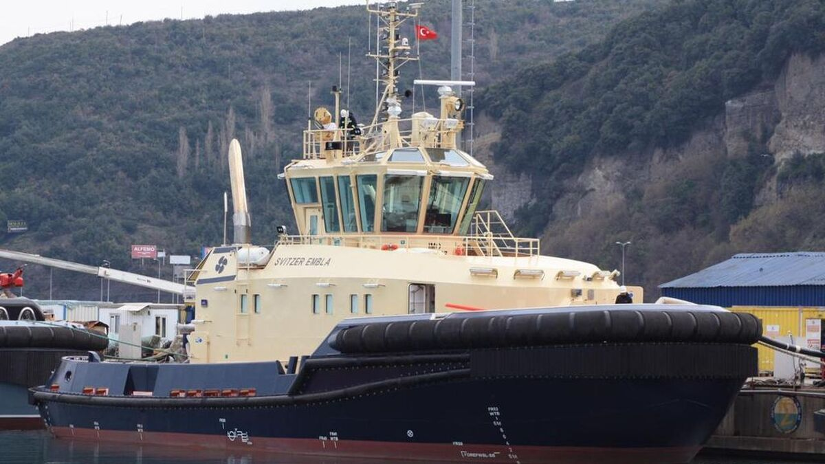 Svitzer Embla: ice-breaking tug built by Med Marine to Robert Allan design (source: Svitzer)