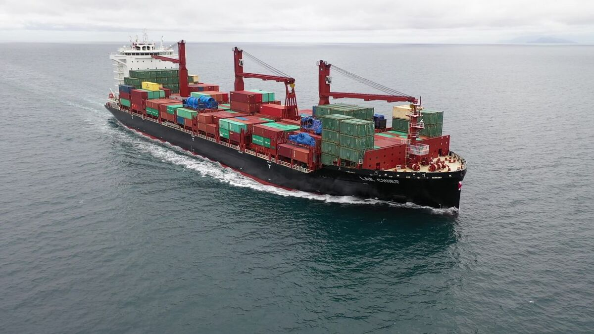 The China Navigation Company is a founding member of the Ship Recycling Transparency Initiative (pictured is 2,750-TEU Lae Chief)