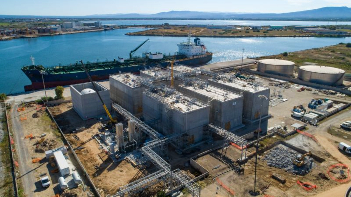 Higas LNG import terminal will open in H1 2021 (source: Reganosa)