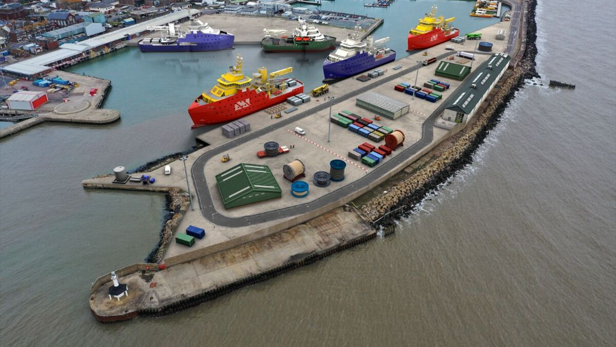 ABP unveils plan for Lowestoft SOV base and marshalling area