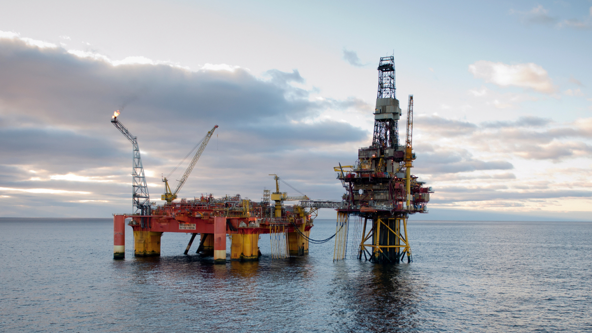 The Veslefrikk platform has been operating since 1989 (source: Equinor/Øyvind Hagen)