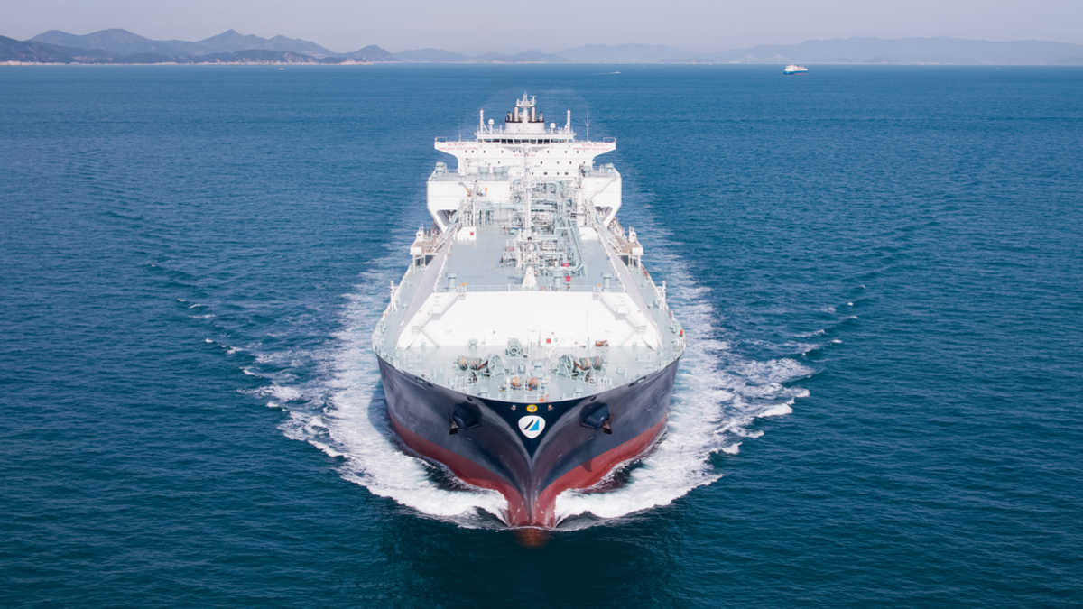 Minerva Kalymnos - one of the Minerva LNG carriers to be covered by Wärtsilä's optimised maintenance agreements (© Minerva Gas Inc)