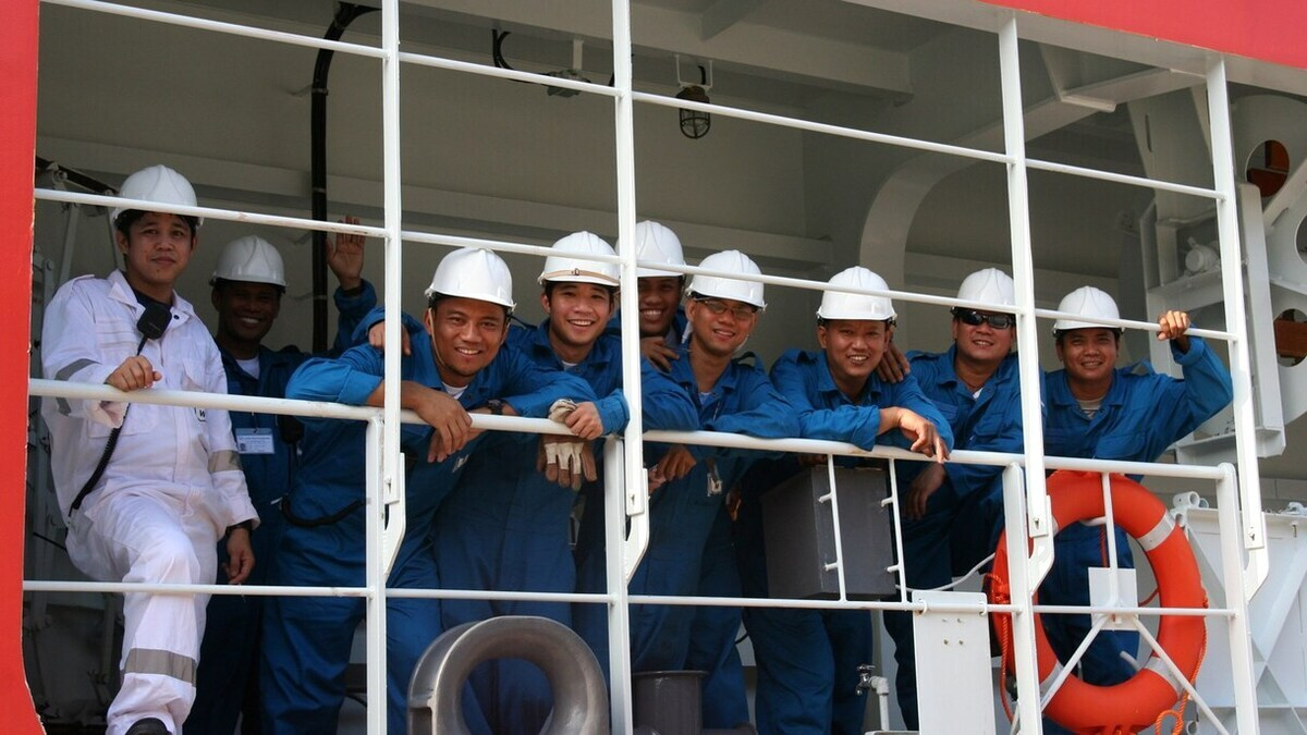 Mandatory vaccinations for seafarers may result in delays, new liabilities warns ICS (Image: Wilhelmsen Ship Management)