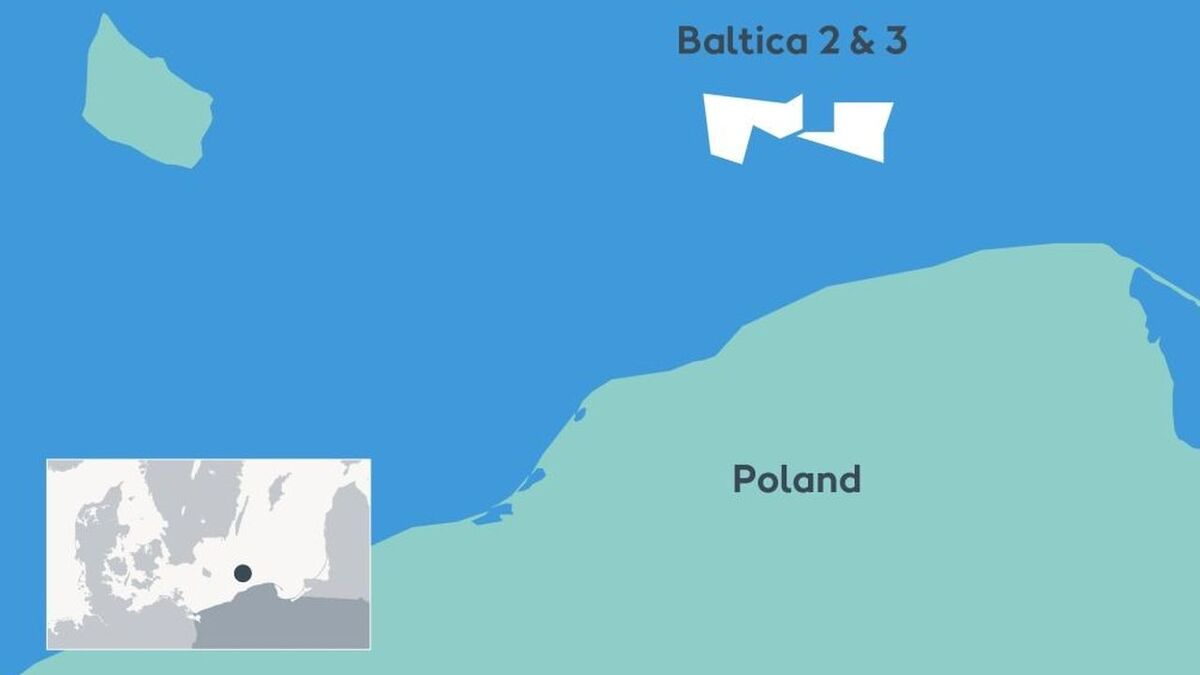 With a total capacity of up to 2.5 GW, Baltica 2 and 3 will generate enough green electricity to power 4M Polish households