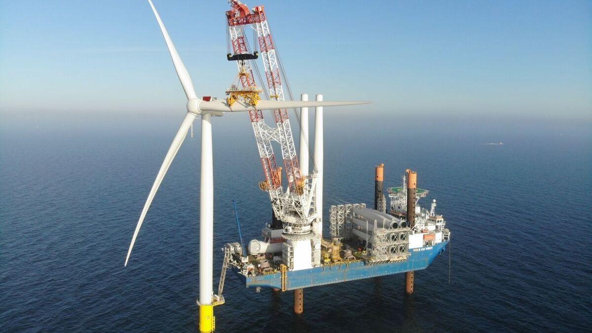 All 72 wind turbines on Kriegers Flak offshore windfarm installed
