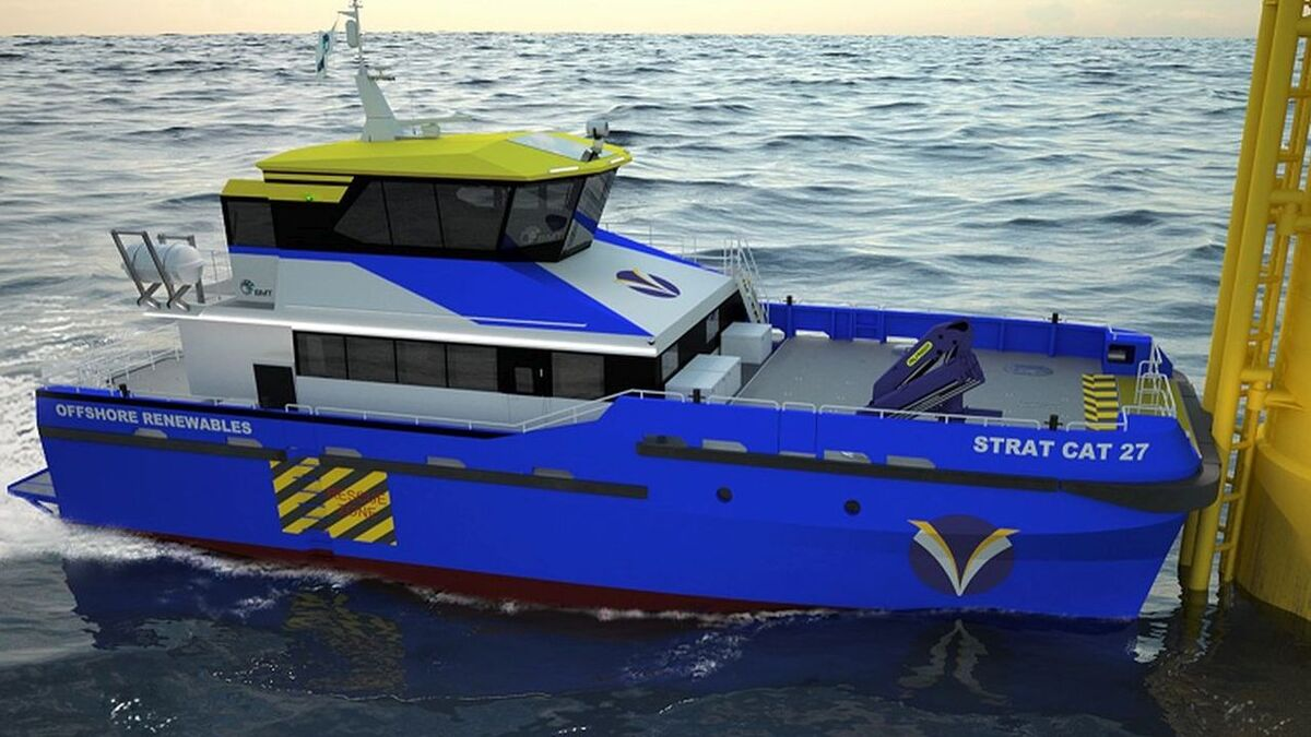 Strategic Marine unveils updated crew transfer vessel design