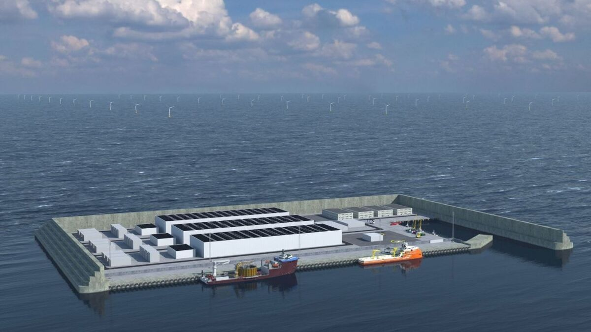 The energy island will be constructed 80 km offshore from the Jutland peninsula and will be owned by a public-private partnership
