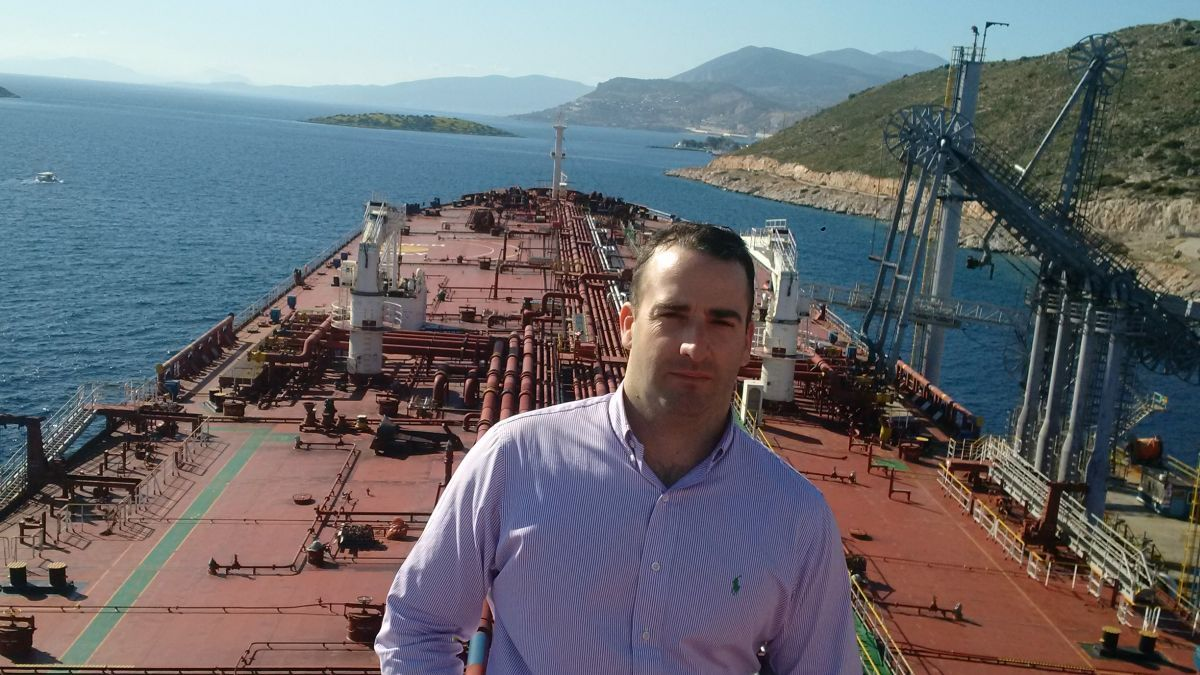 """Harry Vafias (Stealth): """"We are very bullish for the second half of 2021, for tankers and for the gas carriers"""" (source: Stealth)"""